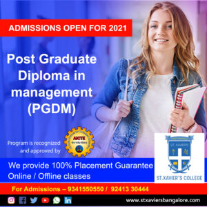Top PGDM /BBA / B.com College in Bangalore | Approved by AICTE